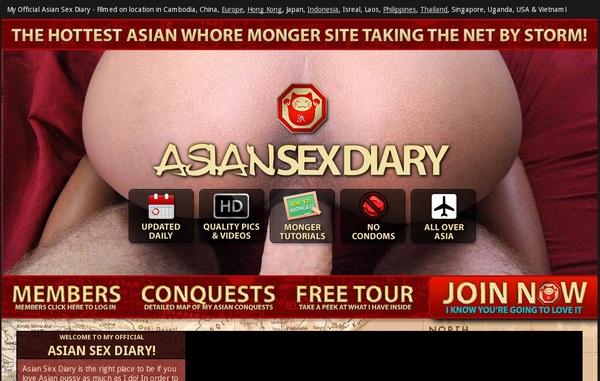 Asian Sex Diary 支払い