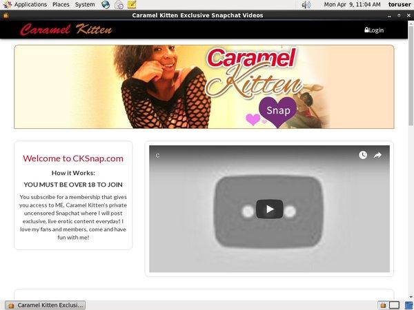 Caramel Kitten 3gp