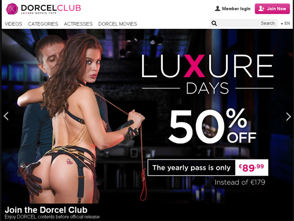 Dorcel Club Free Accounts And Passwords