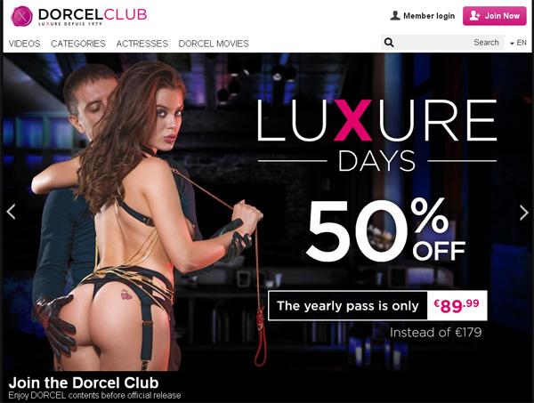 Dorcelclub New Accounts