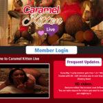 Get Into Caramel Kitten Live