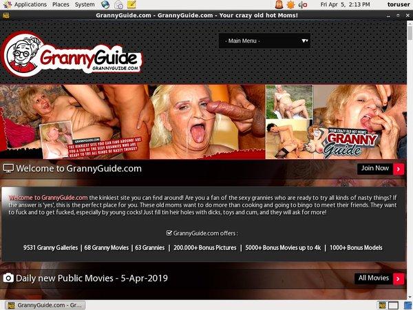 Grannyguide.com 支払い