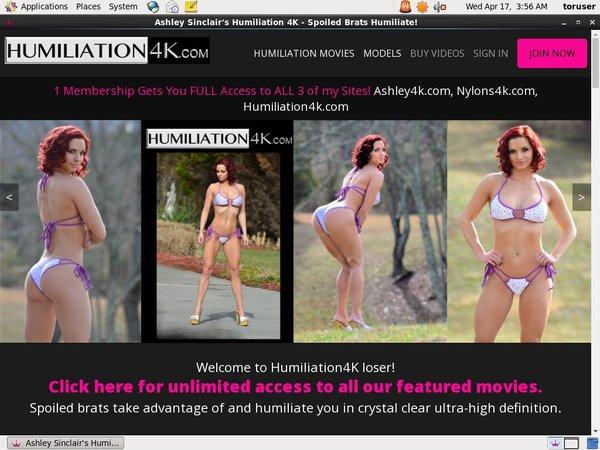Discounted Humiliation4k Membership
