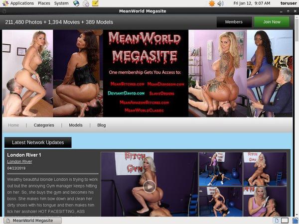 Free Meanworld.com Logins