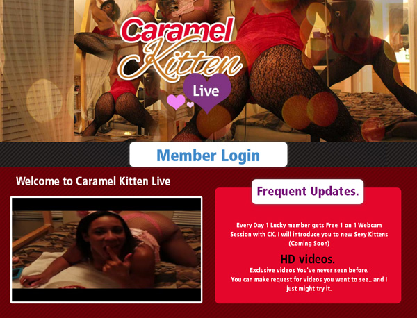 Free Premium Caramelkittenlive