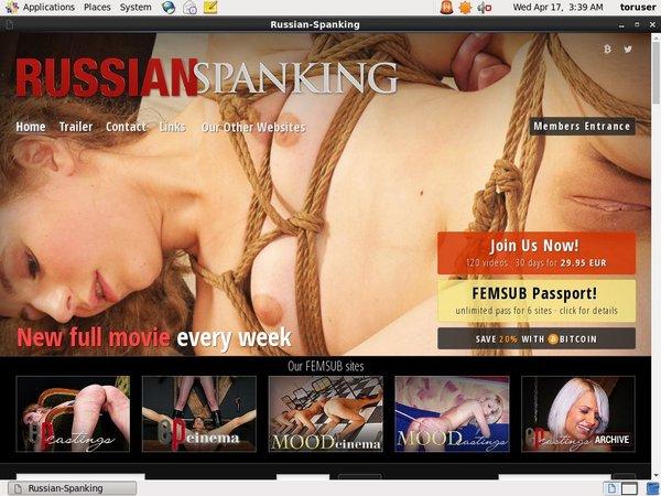 Russian Spanking Recent